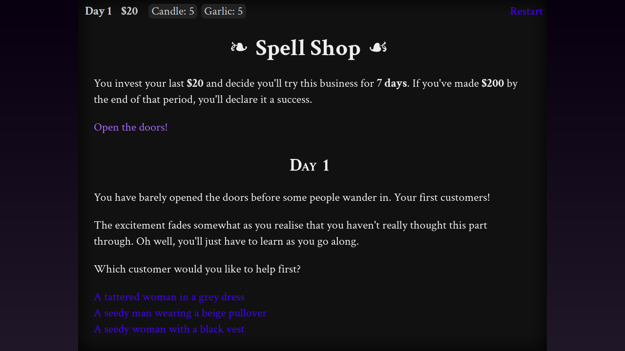 Spell Shop screenshot