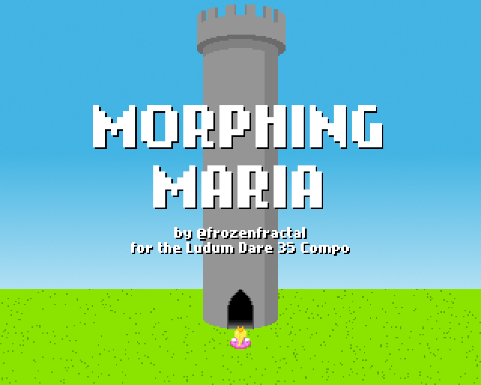 Morphing Maria title screen